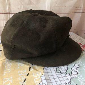 World Beaters Vintage Newsboy Hat Dark Brown